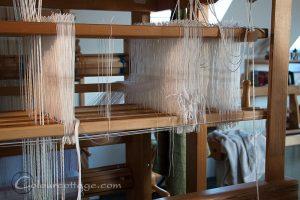 1350 tråde på 12 skafter